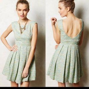 | Anthropologie | Paper Crown Parkside Tweed Dress